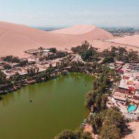 Como visitar Huacachina um Oásis no deserto de Ica no Peru